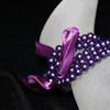 Purple kids pearl bracelet