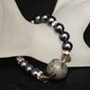 Stretchy pearl bracelet
