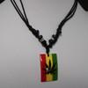 Marijuana necklace