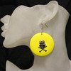 Yellow skull rings