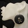 Black skull rings
