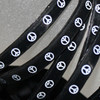 Silicone hippie bracelets