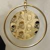Skull and cross bone earrings