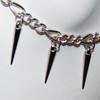 Spiked ankle bracelets