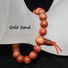 Gold sand stone bracelets