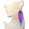 Cheap feather earrings