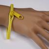 Girls zipper bracelets