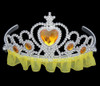 Yellow princess tiara