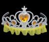 Yellow princess tiara