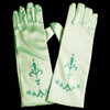 Aqua princess gloves