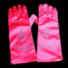 Hot pink princess gloves