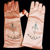 Pink princess gloves