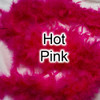 Hot pink feather boas