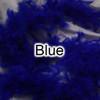 Blue feather boas