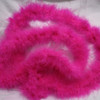 Pink marabou feather boas