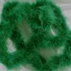 Green marabou feather boas