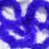 Blue marabou feather boas