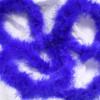 Blue marabou feather boas