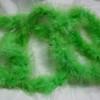 Lime marabou feather boas