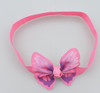 Pink butterfly headbands