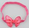 Hot pink butterfly headbands