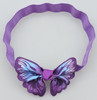 Lavender butterfly headbands