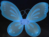 Light blue fairy wings