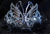 Black butterfly tiara