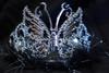 Black butterfly tiara