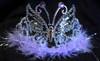 Lavender butterfly tiara