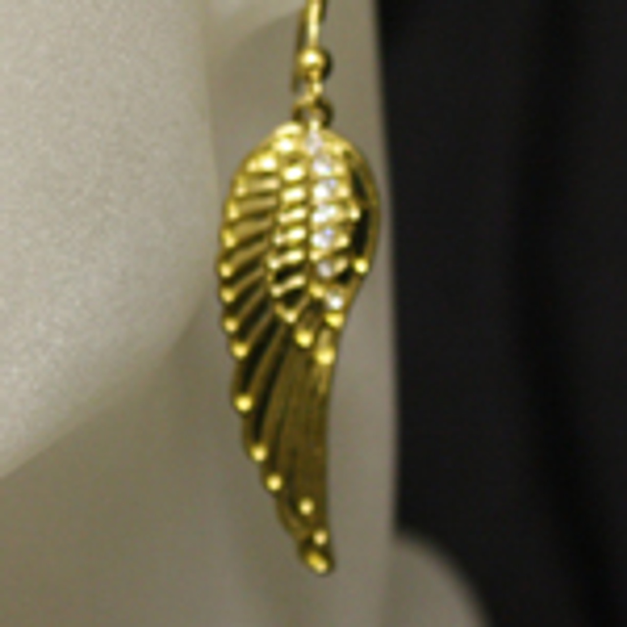Wholesale angel wing earrings