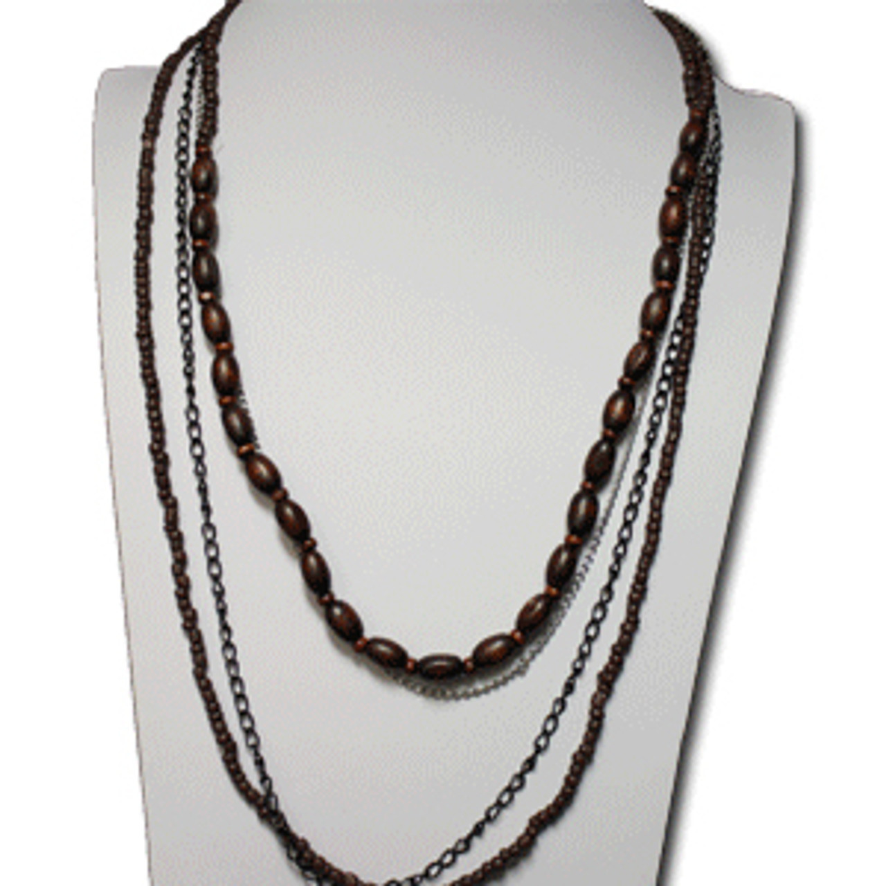 Cheap bohemian necklace and earring set