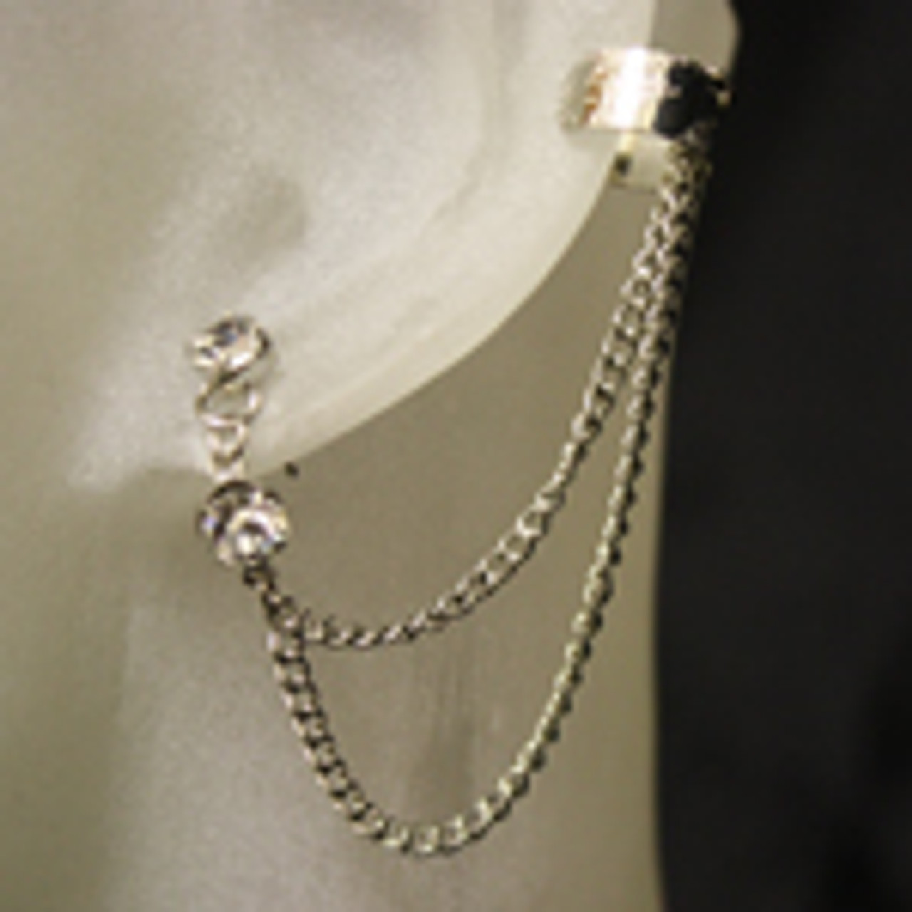 Wholesale diamond ear cuff set