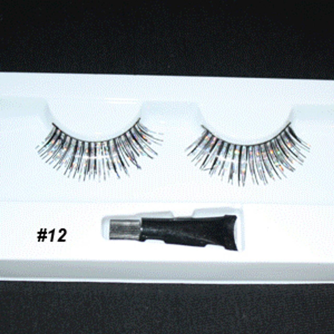 #12 Zebra Fake eyelashes