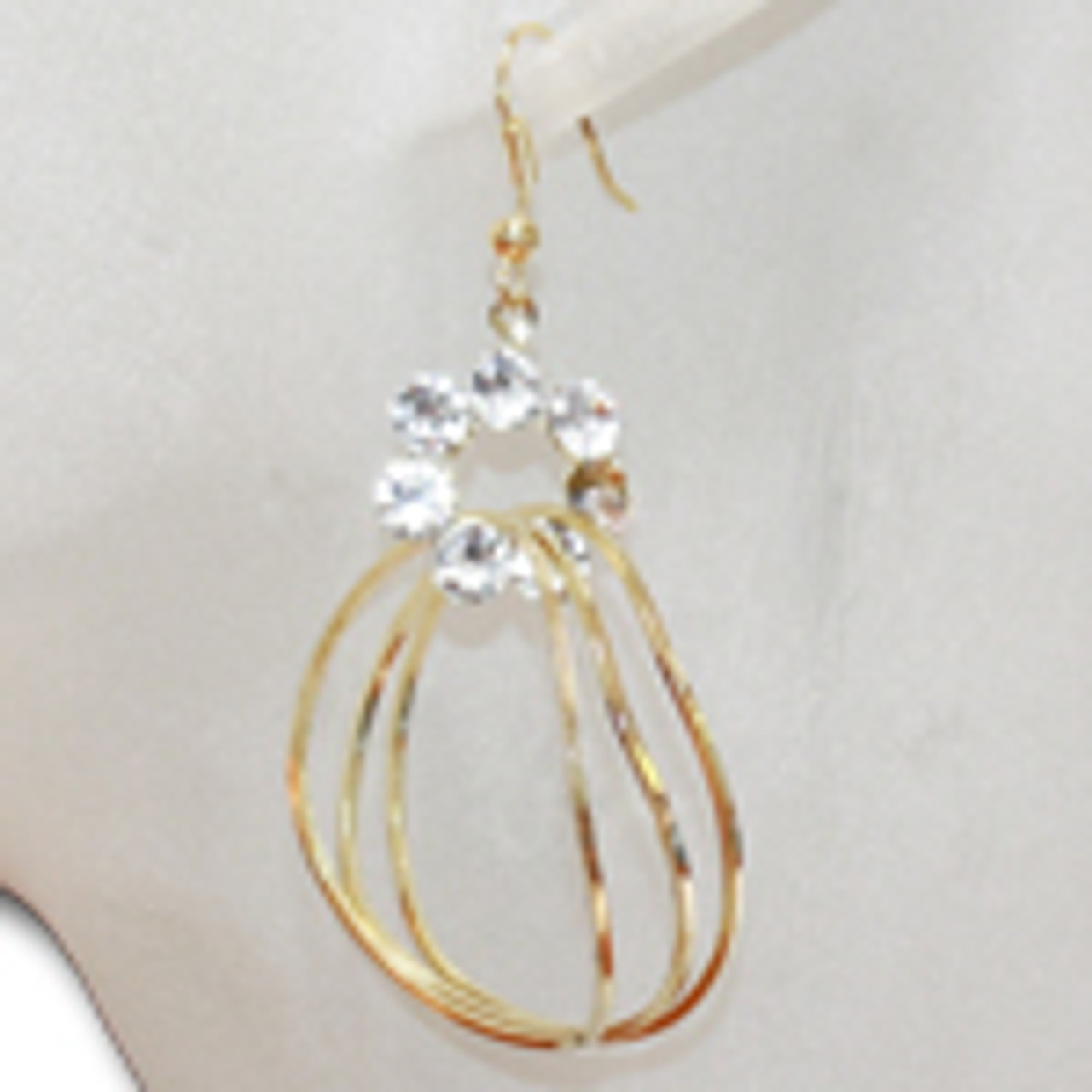 Wholesale golden hoop earrings