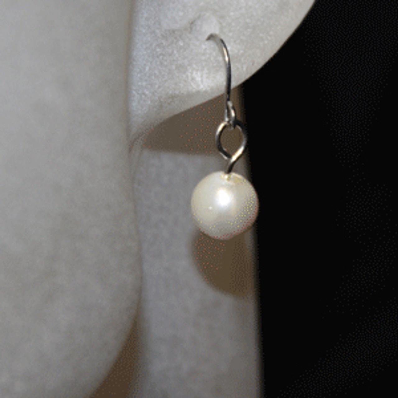 Kids pearl earrings