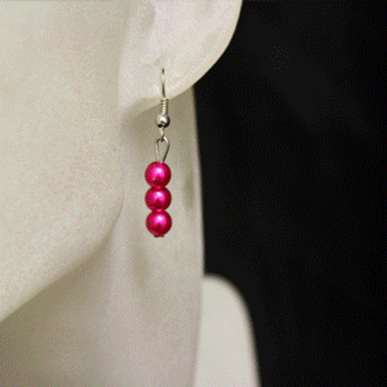 Kids pearl earring