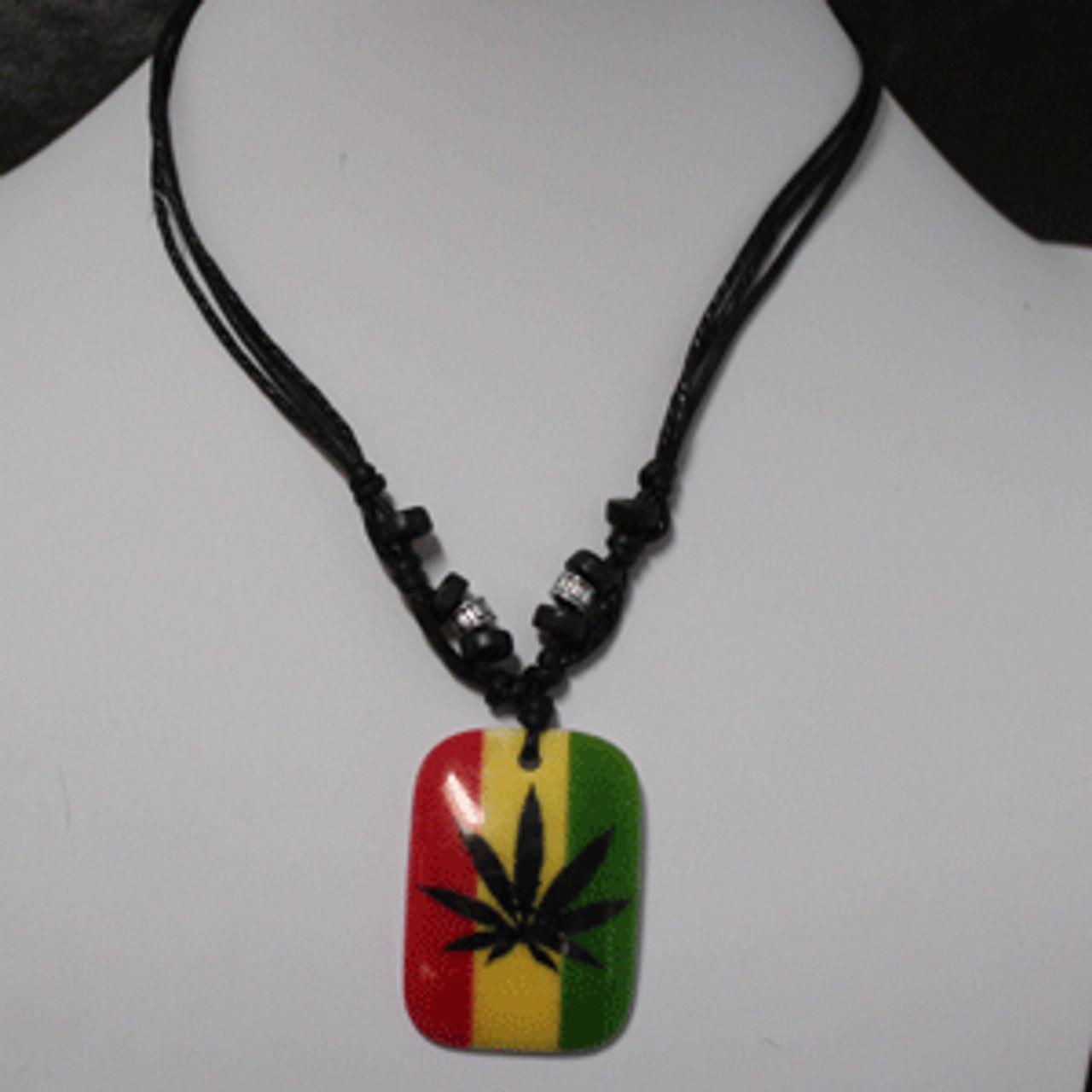 Pot leaf necklaces