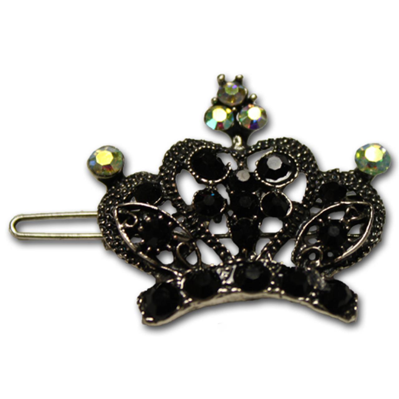 Princess crown barrette