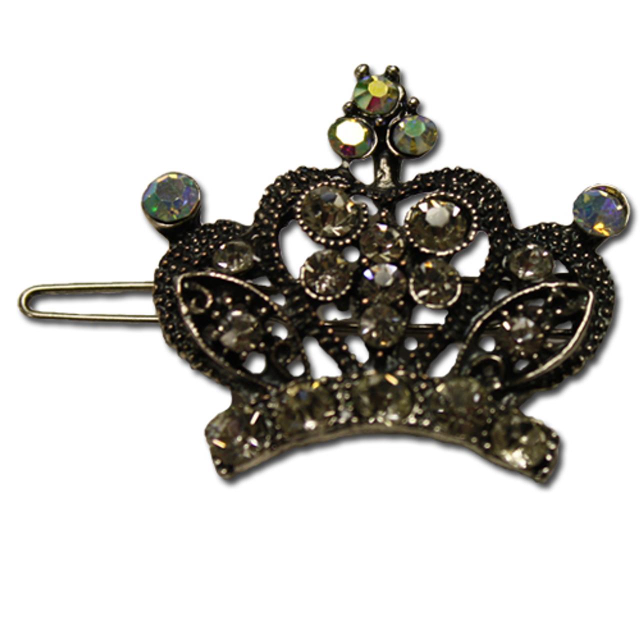 Princess tiara barrette