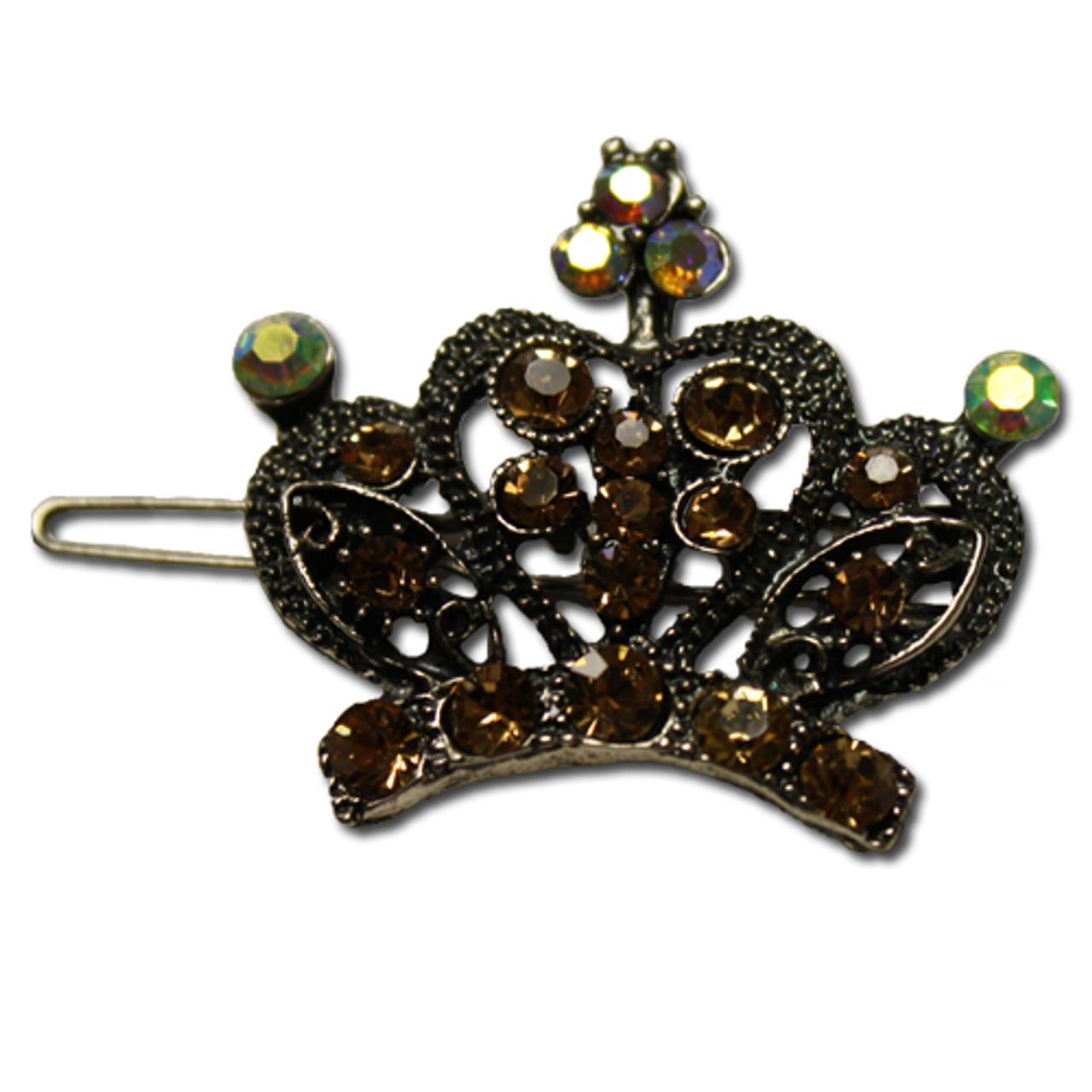 Wholesale princess tiara barrettes