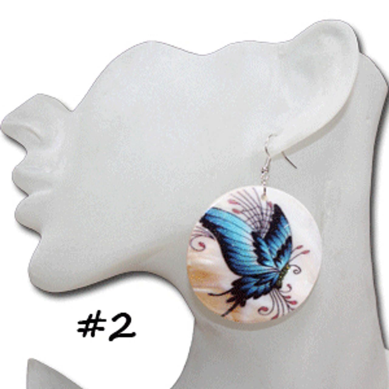 Cheap butterfly earrings