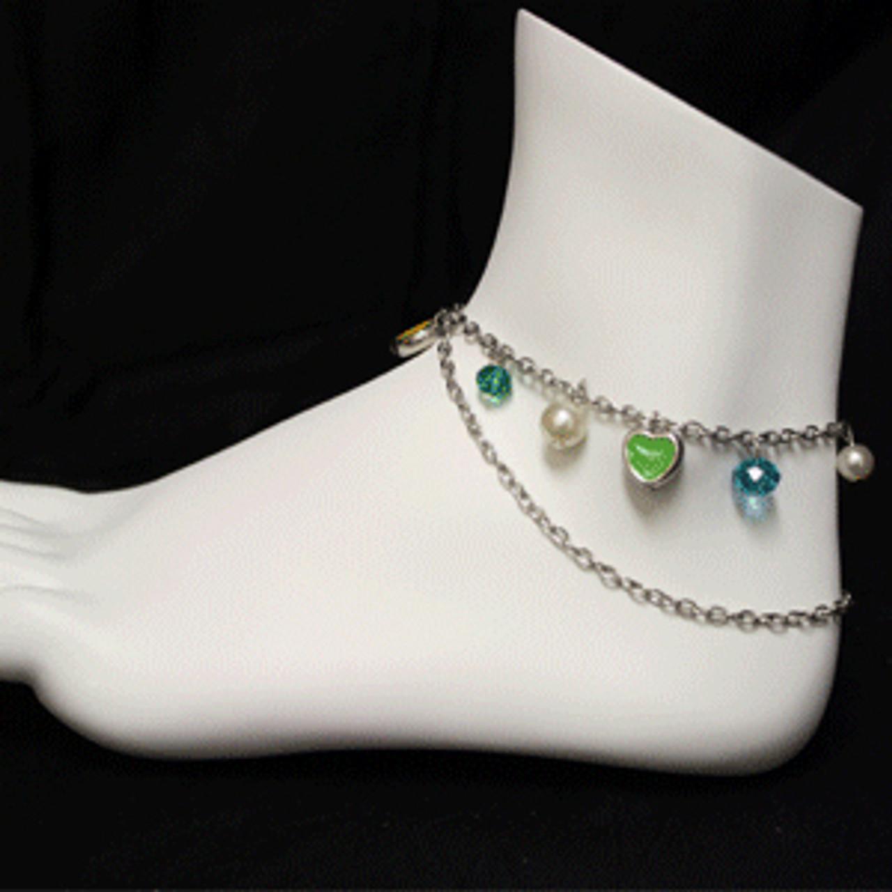 Girls ankle bracelet