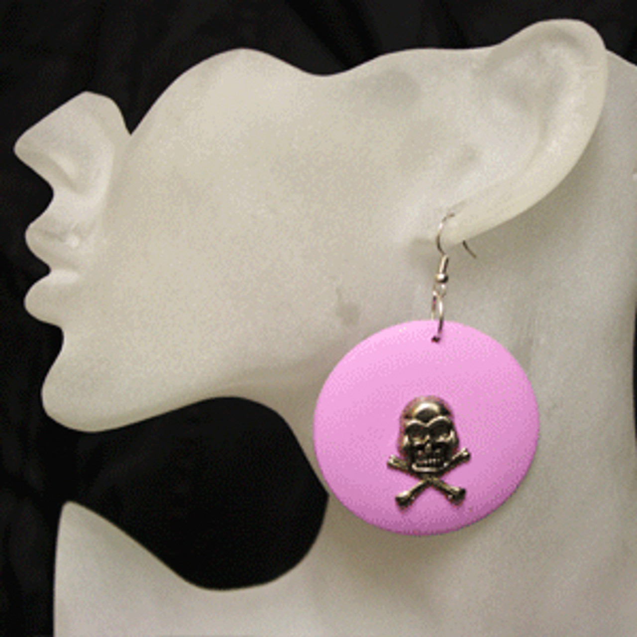Pink skull rings