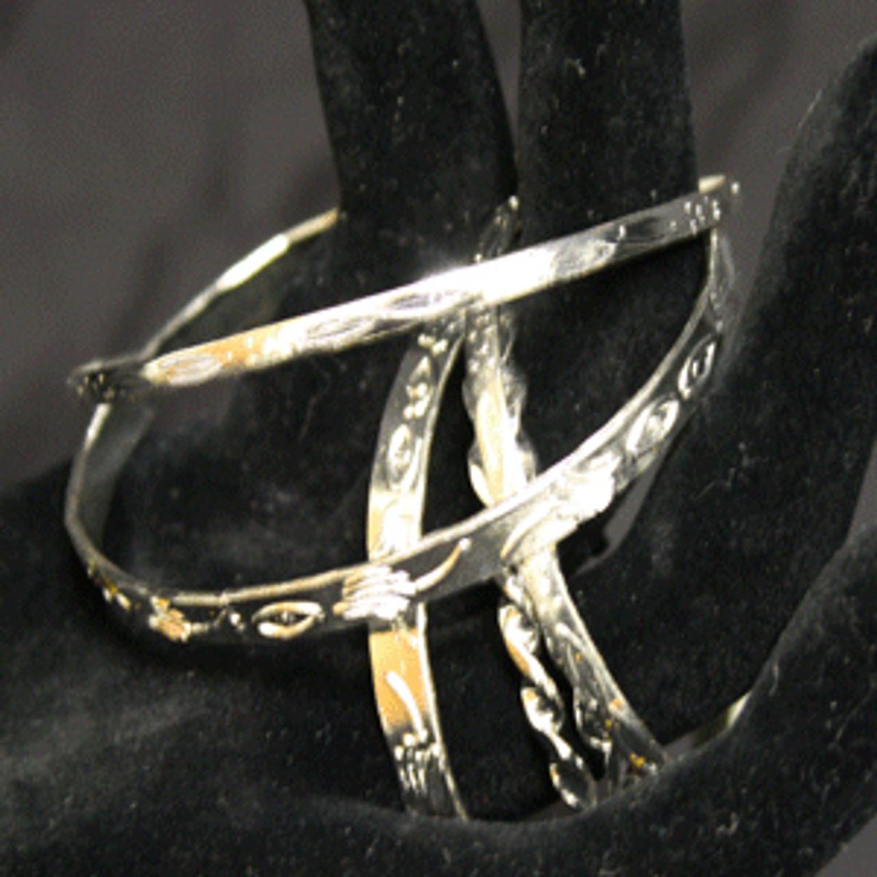 Little girls bangle bracelet set