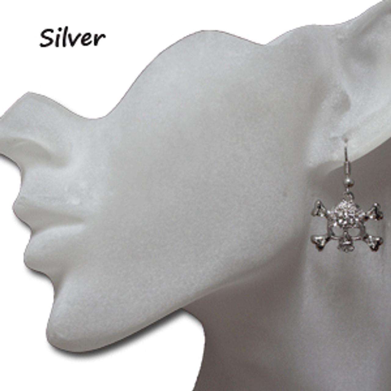 Cheap skull earrings