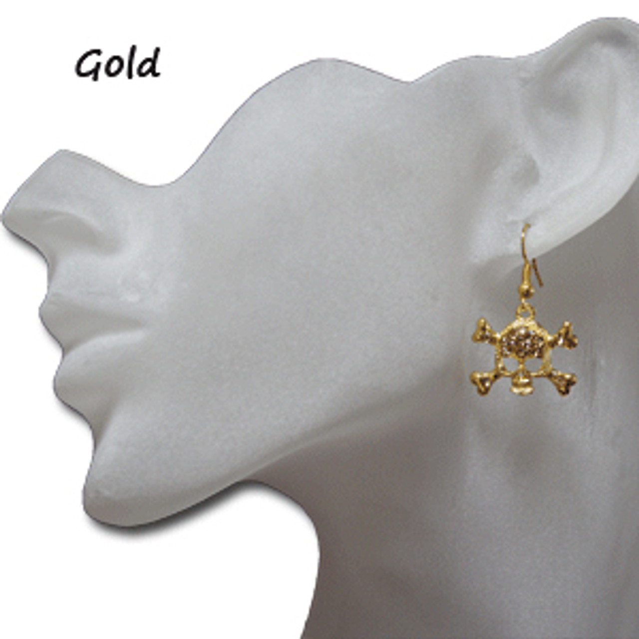 Wholesale skull earrings