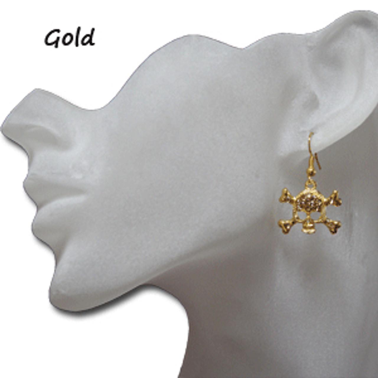 Wholesale skull earrings