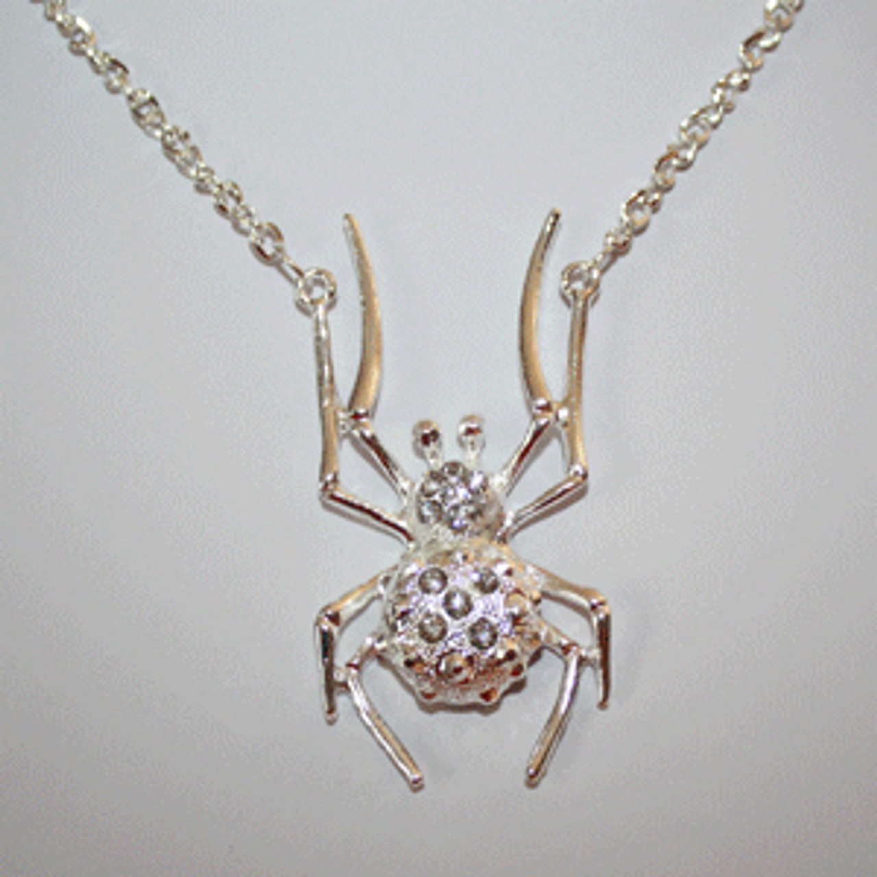 Cheap spider necklace