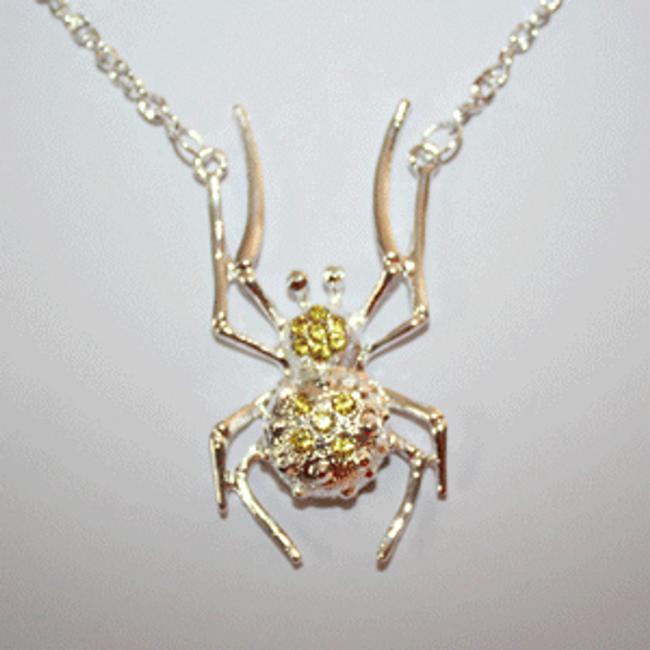 Spider necklace for costumes